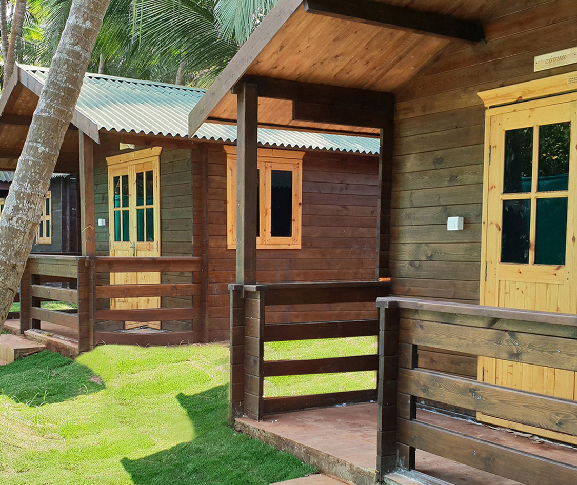 The cool huts goa